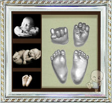 Baby Keepsake DIY 3D Casting Kit & Shadowbox photo frame  CY
