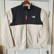 The North Face Mens XL Black and White 300 Tundra Fleece Full Zip Jacket