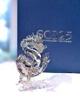 Swarovski 2012 SCS 25th Anniversary Jubilee Dragon Sign 1096752 Brand New in Box
