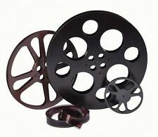 Rustic Finish Film Reel Wall Decor 3 Piece Set for Home Theater and Media Room