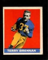 1948 LEAF #11 TERRY BRENNAN GOOD+ RC ROOKIE  *X3219