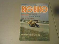 JUNE 1973 BIG BIKE MAGAZINE,73 DAYTONA ROAD RACE,YAMAHA 750,HARLEY SPORTSTER,AMA