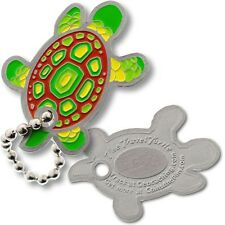Turtle Micro Travel Tag For Geocaching (Travel Bug Geocoin)