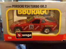 Bburago PORSCHE 924 TURBO GR.2 Scale 1/25 ON SALE NOW !!!