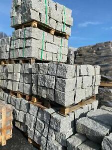 Trockenmauersteine Natursteinmauer Natursteine Granit Grau 20/20/40 cm 1000KG