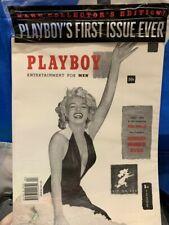 Vintage Playboy Magazine December 1953 Marilyn Monroe