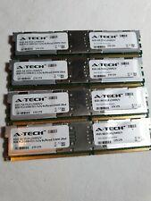 (32GB) 4x 8GB A-Tech 6521 AA 5514L/H445/V PC2-5300 ECC-FB 2Rx4 DIMM Memory