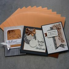FOIL MIRROR CARD A5 ROSE GOLD 320 GSM 10 SHTS CHRISTMAS WEDDING CARDMAKING