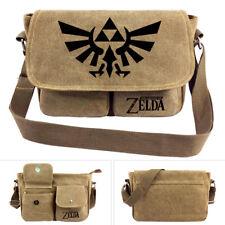 Legend of Zelda Leinen Umhänge Tasche, Motiv: Hyrule Wappen FÜR Nintendo Tasche