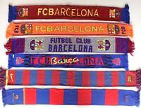 Barcelona Scarf Barca Vintage Football Scarves Bufanda Futbol Spain Knit Retro