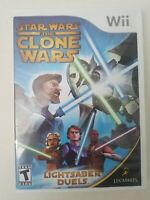 Star Wars: The Clone Wars - Lightsaber Duels, Nintendo Wii, 2008, Complete