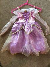 Girl's Disney Aurora Sleeping Beauty Dress Costume Size 4-6X