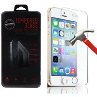 Slim Premium Tempered Glass Screen Protector Film for Apple iPhone SE/5/5S/5C