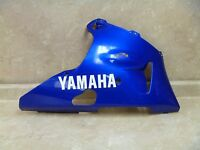 Yamaha 1000 YZF R1 YZF-R1 Used Original Lower Right  Fairing Cowl Cover 2000 #MS