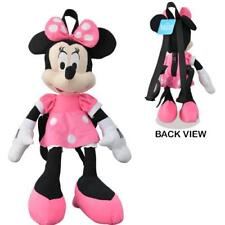 """DISNEY MINNIE PLUSH DOLL BACKPACK KIDS TOY DISNEY BAG TOTE AUTHENTIC 16"""""""