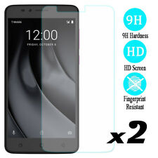 2Pcs 9H Hardness Screen Protector Tempered Glass Film For T-mobile Revvl Plus