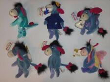NEW Disney Christmas EEYORE Toy Store Park Winnie Pooh Rare plush Lot of 8 nwts