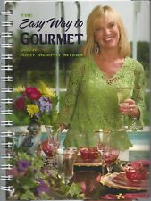 NEPTUNE BEACH FL * THE EASY WAY TO GOURMET COOK BOOK by ABBY MURPHY MYERS signed
