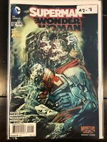 Superman/ Wonder Woman #12 Variant Monsters Cover High Grade DC Comic Book A2-7