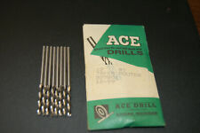 Ace Drill Bits 1 Taper Routers Lot Of 8