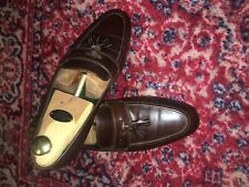 Gucci Tassel Loafers - Größe 43 (US 10) - Braun / Brown
