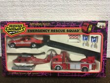 ROAD CHAMPS #7350  EMERGENCY RESCUE SQUAD 3 VEHICLES- 1/43 SCALE