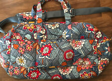 Vera Bradley Floral  Large Weekend Travel Bag