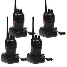 BAOFENG BF-888S UHF WALKIE TALKIES 400-470MHz RICETRASMITTENTE 4 PEZZI
