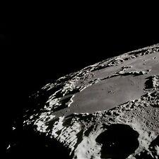 Photo Nasa - Apollo 15 - Surface de la lune cratères