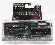 Greenlight 1/64 Scale 31040-B - 2015 Ford F150 1995 Lincoln & Trailer The Matrix
