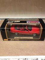 1:18 Maisto Special Edition BMW 325i Convertible - Red