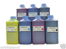 7 Liters of pigment refill ink for Canon Wide-format Printer IPF W6400 W8400
