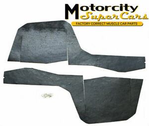1969-1972 Cutlass w-30 Lower Radiator Seal For All 455 Cubic Inch Rubber Seals