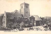 BR61392 parish church folkestone    uk