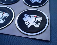 (P55BSHR) 4x Pantera Embleme für Nabenkappen Felgendeckel 55mm Silikon Aufkleber