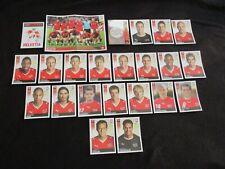 SUISSE HELVETIA SWITZERLAND  Equipe team Complete panini EURO 2008 UEFA