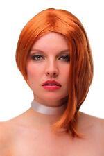 Parrucca da Donna Corto Bob Sexy Wild Riga Asimmetrico Rame GF-W2202-8K