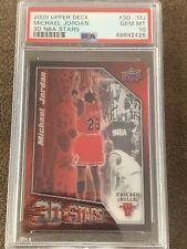 2009-10 UPPER DECK MICHAEL JORDAN 3D STARS INSERT CARD #3D-MJ Psa 10 Low Pop!
