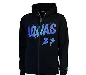 Nike Air Jordan M Hoodie Jacke Sweat ZIP NEU Hoody NBA Basketball Aquas VIII