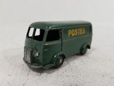 Rare Dinky Toys French 25B Peugeot D.3.A. Van 'Postes' Green - JFS