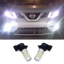 2X 9006 HB4 144 SMD LED Driving DRL Fog Light Bulb 6000K Pure White Lamp for car