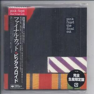PINK FLOYD The Final Cut JAPAN mini lp cd papersleeve SICP 5414 NEW