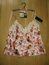 M&S MARKS & SPENCER ROSIE FOR AUTOGRAPH CREAM SILK CAMI TOP UK SIZE 10