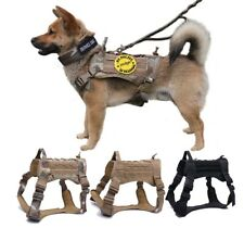 Military Tactical Dog Harness German Shepherd Pet Dog Vest With Handle Nylon Bu