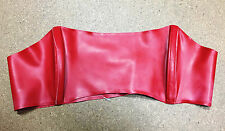 Syren Latex Red Bandeau Top
