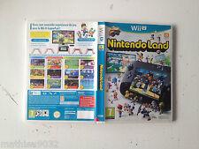Boite pour le jeu Nintendoland Land Nintendo Wii U PAL FR