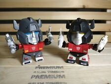 "Lot 2 Sideswipe 3"" Vinyl Loyal Subjects Transformers"