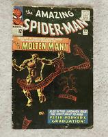Amazing Spider-man #28, VG 4.0, 1st Appearance Molten Man