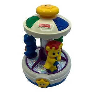 Fisher Price Sparkling Symphony Carousel Musical Toy Animals Instruments #73457