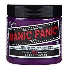 Manic Panic Classic Hair Dye Color Ultra Violet Vegan 118ml Manic-Panic